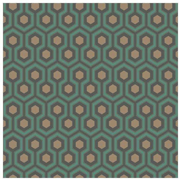 Papier peint Hicks Hexagon Contemporary