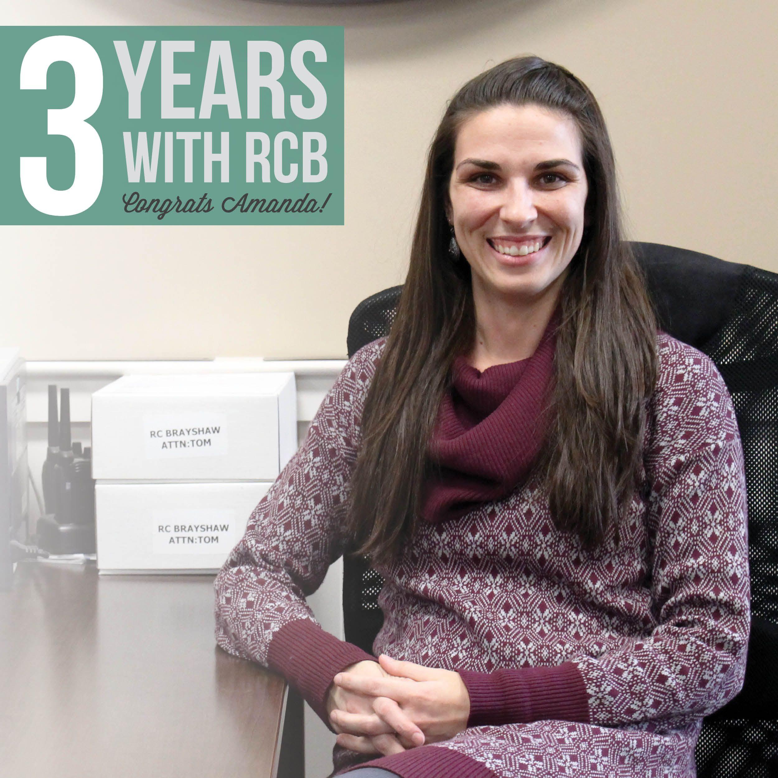 Happy 3 Year #Workiversary Amanda!