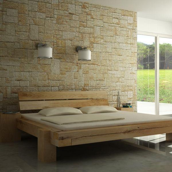 Beambeds 200×200 Bed, Wood beams, Wooden bedroom