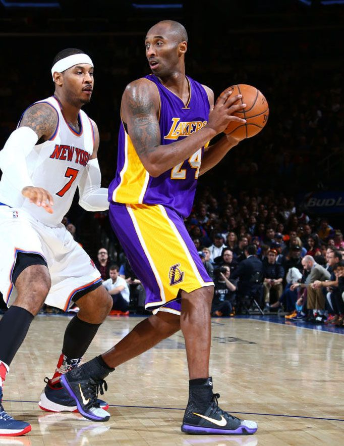 SoleWatch  Kobe Bryant Says Farewell to the Garden in New Kobe 10 Elite PE 41613bb15