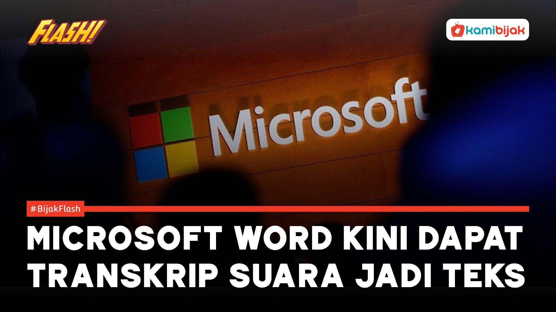 Microsoft Word Kini Dapat Transkrip Suara Jadi Teks Kamibijakid Genggamduniatanpasuara Kbupdate Teks Microsoft Transkripsi