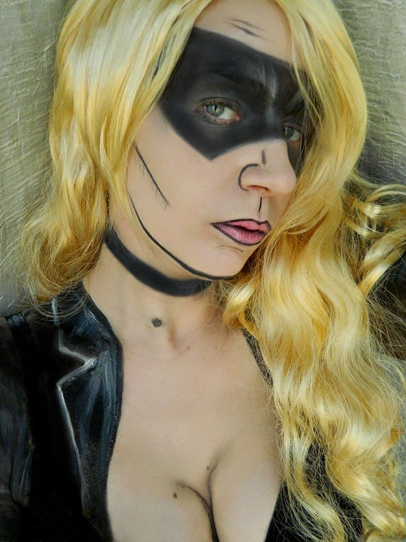 Comics série : Black Canary #makeup #artisticmakeup #blackcanary #arrow #dccomics