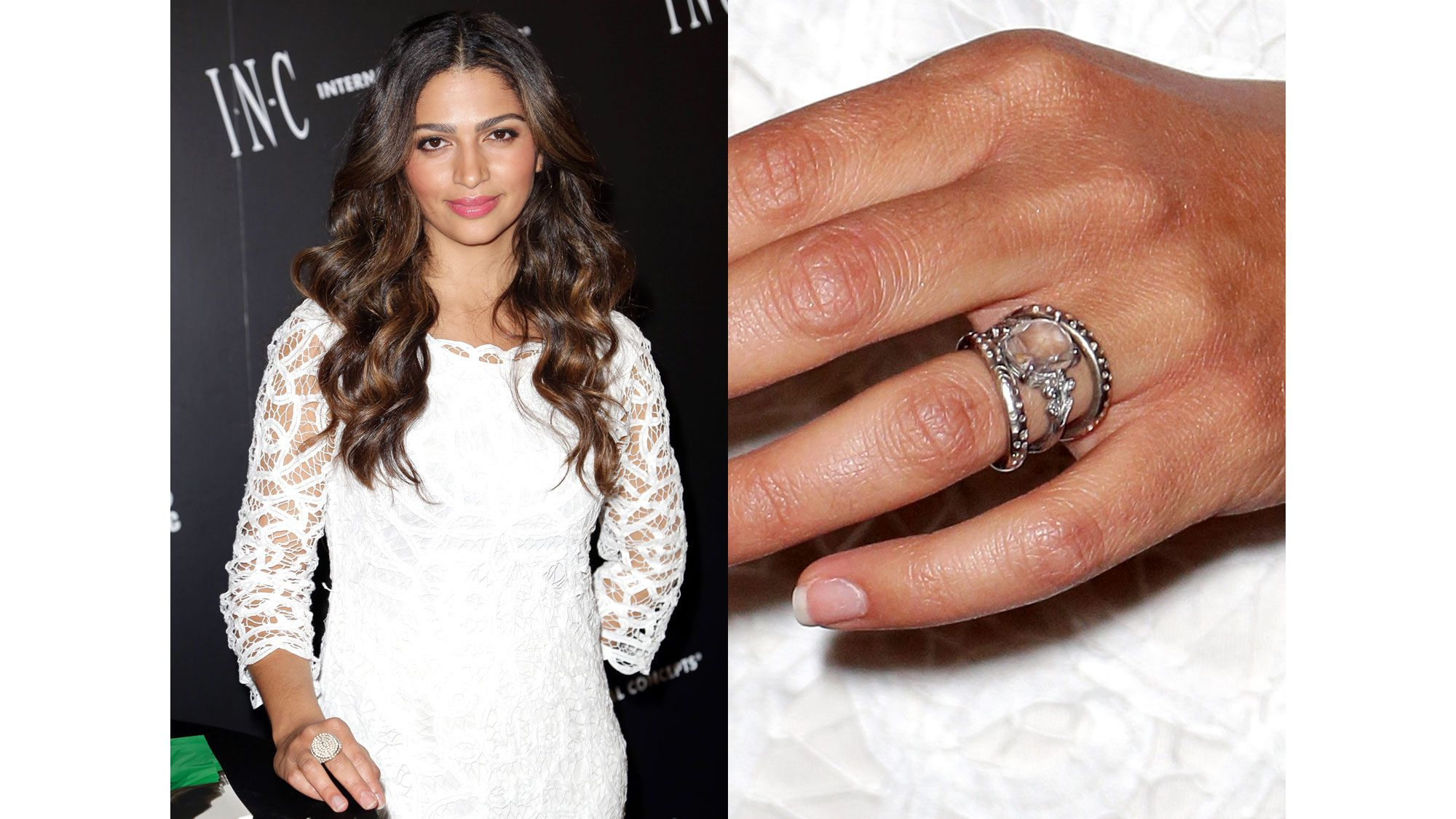 charting the celebrity engagement ring camila alves