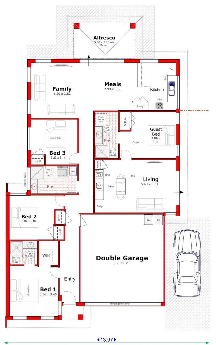 106-dual-key-granny-flat-positive-cash-flow-property-plan | Homes ...