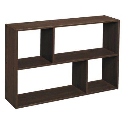 Closetmaid Cubeicals 12 Cube Organizer Shelf Espresso