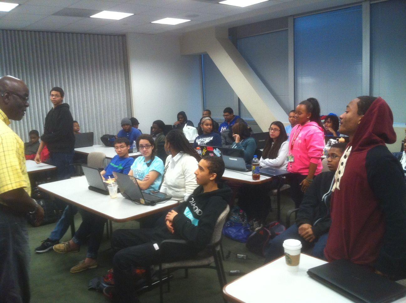 Mr. Lou Shack, HSCC Program Manager & host. BDPA Members