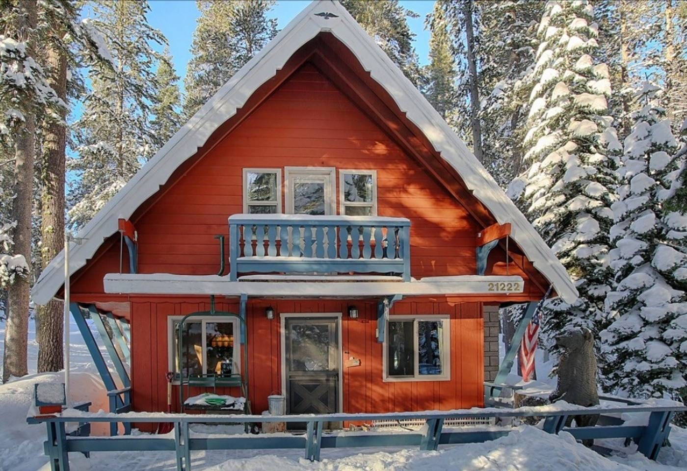 Sugar Pine Chalet Donner Lake Chalet Cabin House Styles