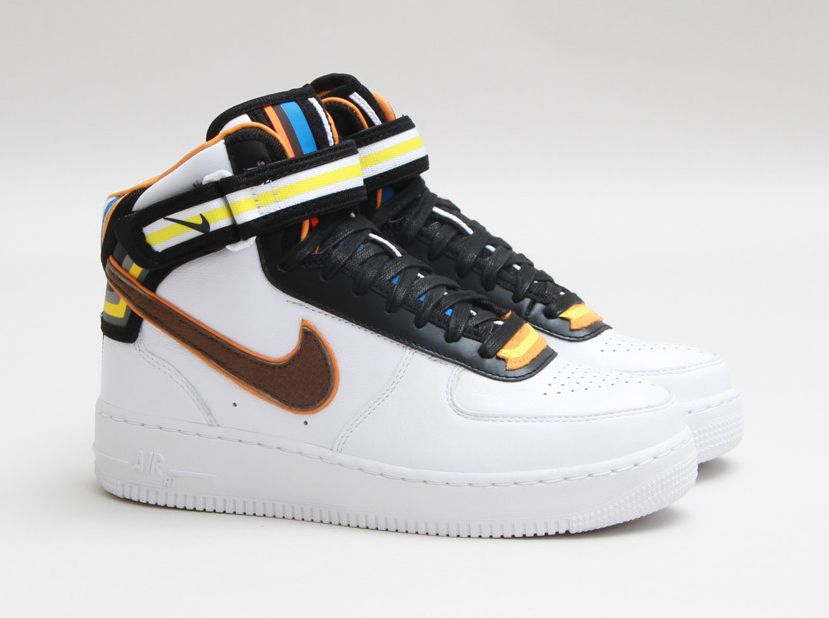Nike Air Force 1 Botte Blanc Tisci Couvertures