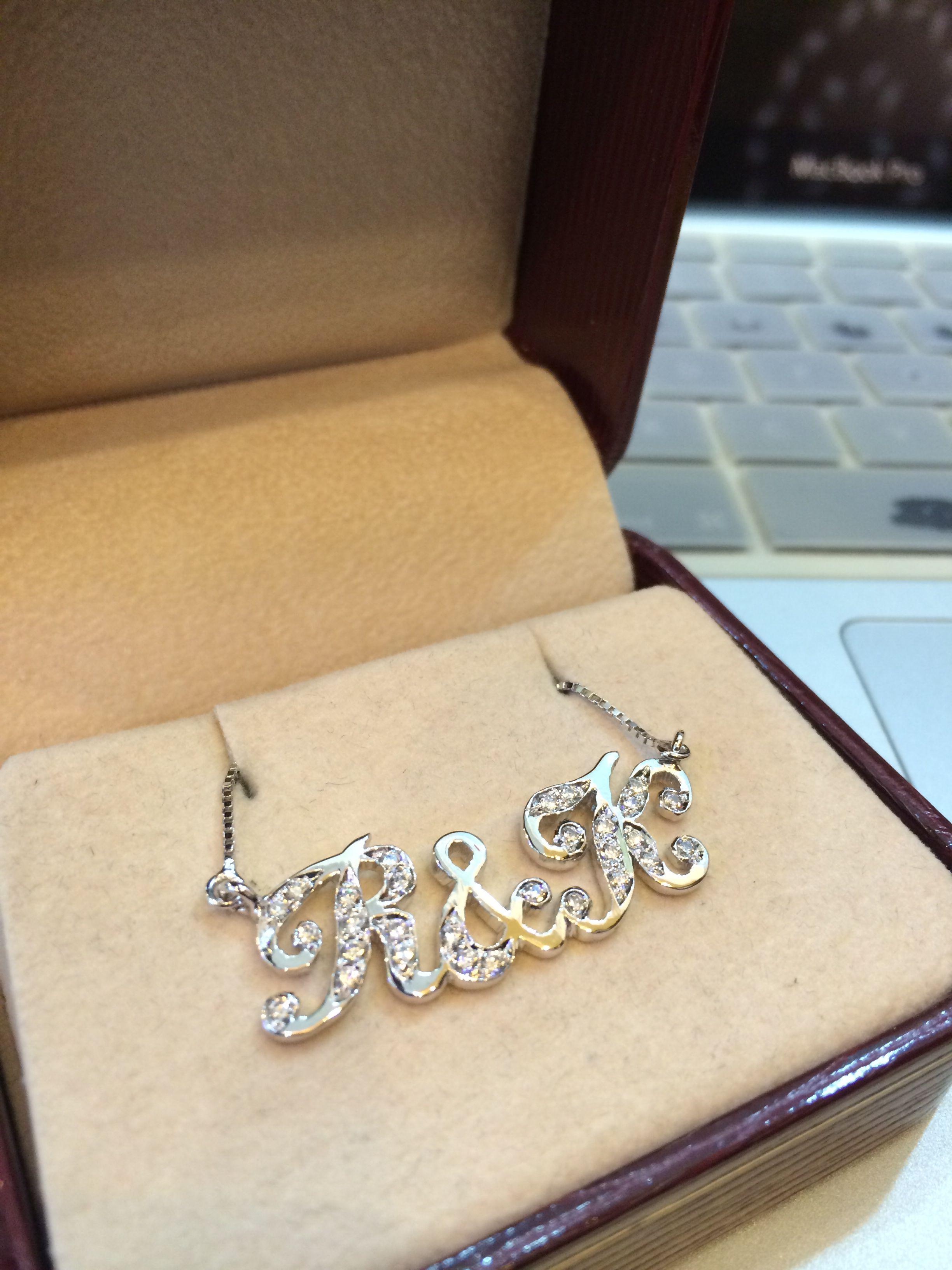 CZ on silver 925 pendant