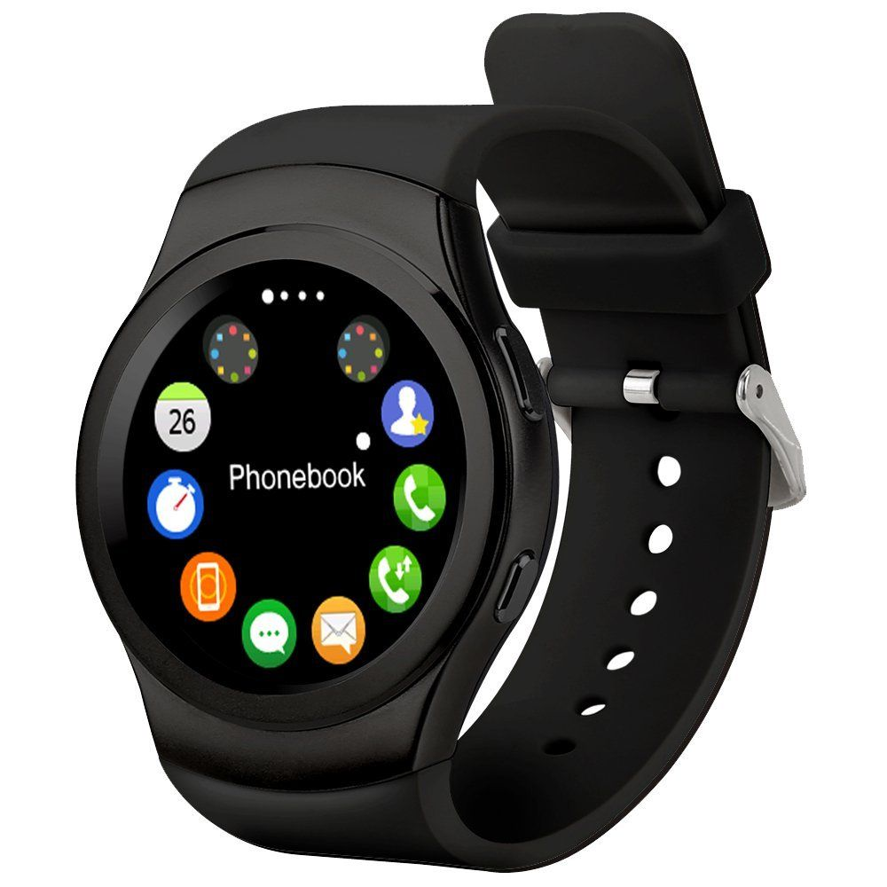 Jedy smart watches mtk2502 full circular bluetooth