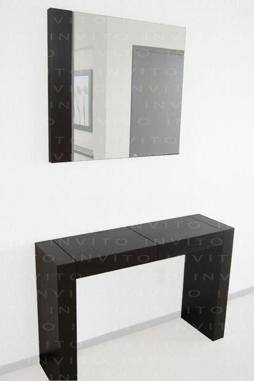 Invito muebles minimalistas interiorismo decoraci n de - Recibidores minimalistas ...