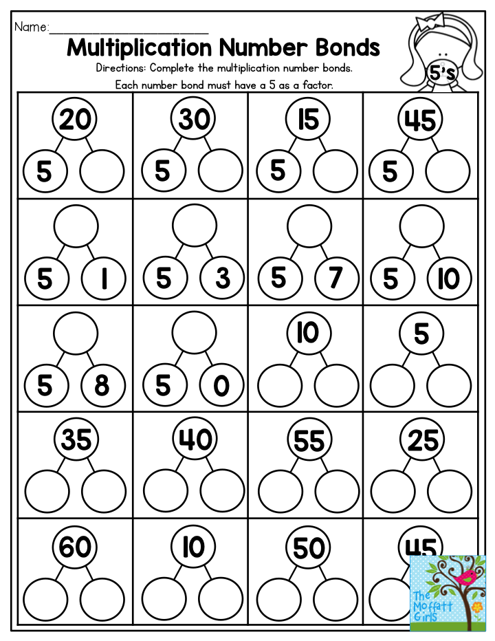 graphic about Printable Multiplication Games for 3rd Grade known as Multiplication Variety Bonds- Thorough the multiplication