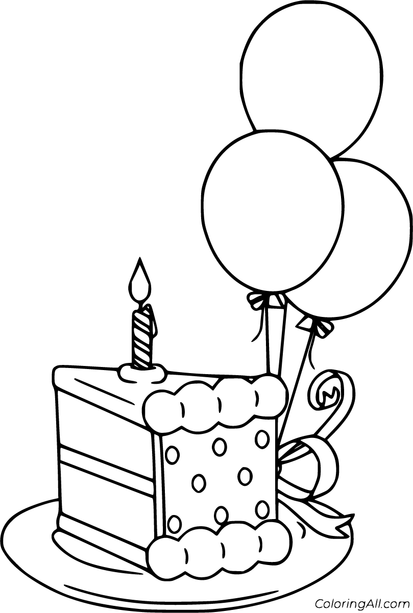 11 Free Printable Birthday Balloon Coloring Pages In Vector Format Easy To Print Fro In 2020 Birthday Coloring Pages Happy Birthday Coloring Pages Cute Coloring Pages