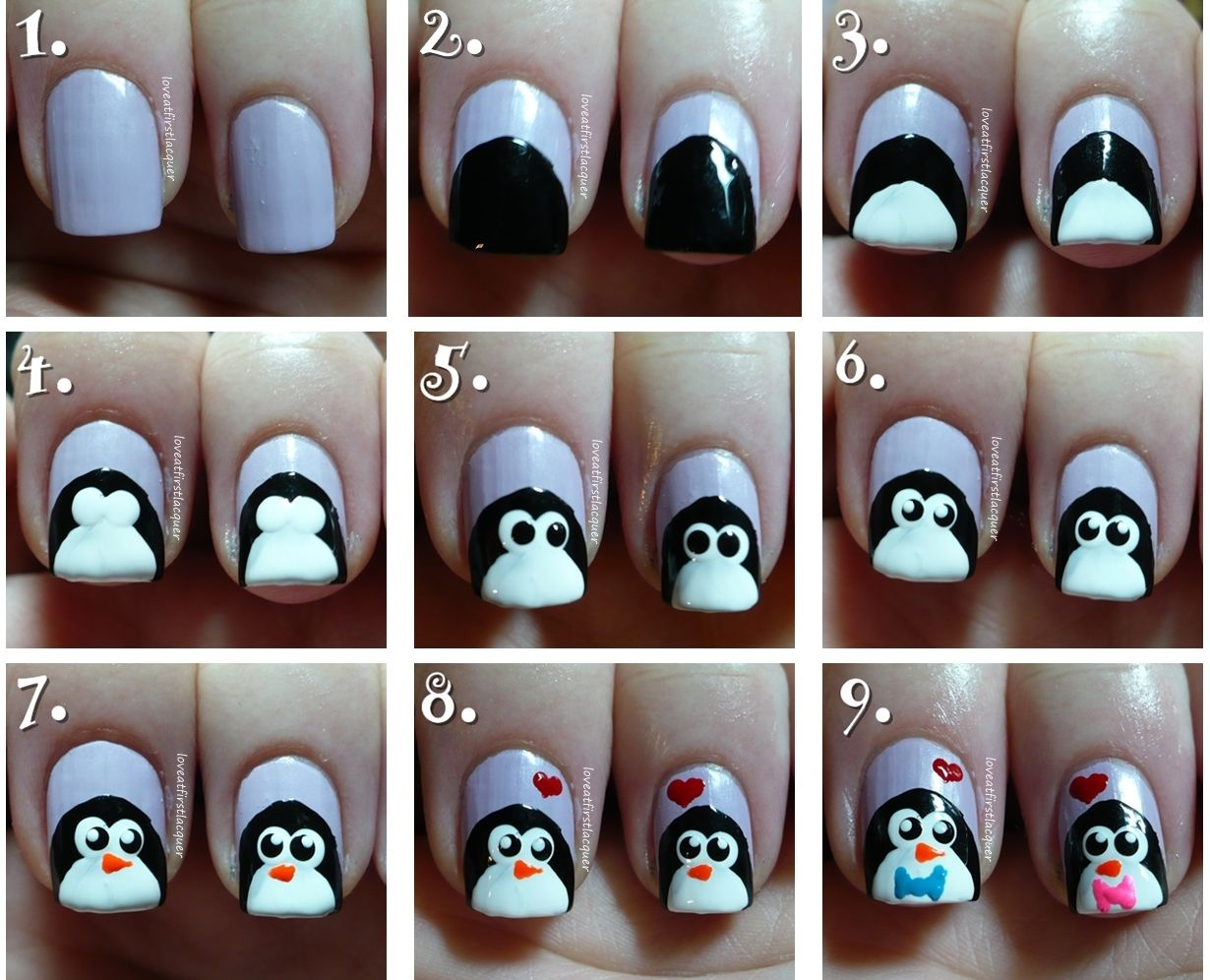 Easy Winter Nail Art Tutorials 2017 For Beginners Learners