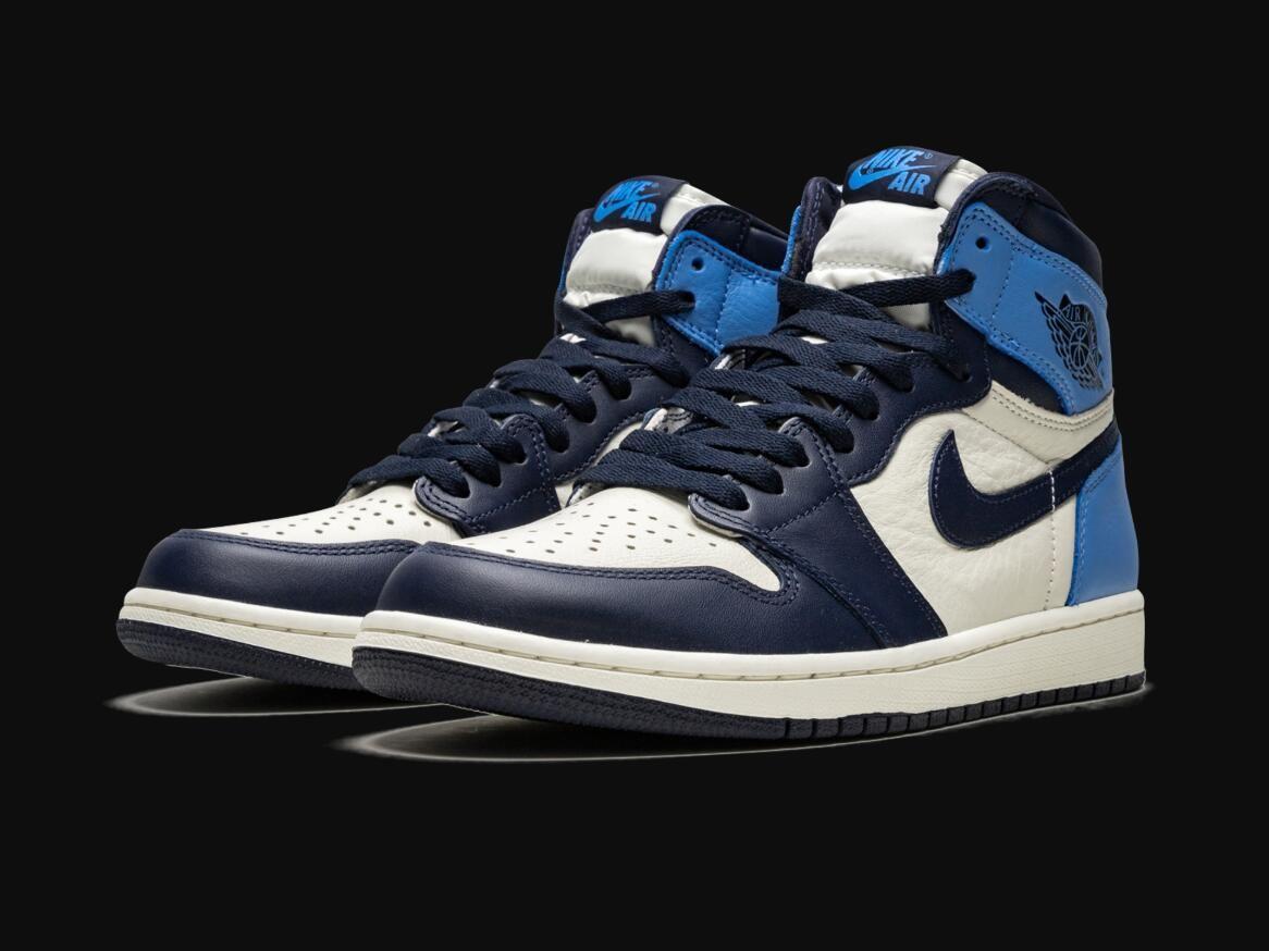 Air Jordan 1 Retro High Og Obsidian University Blue Nike Jordans Cmx Air Jordan 1 Retro High Og Obsidian University Blue In 2020 Air Jordans University Blue Jordan 1