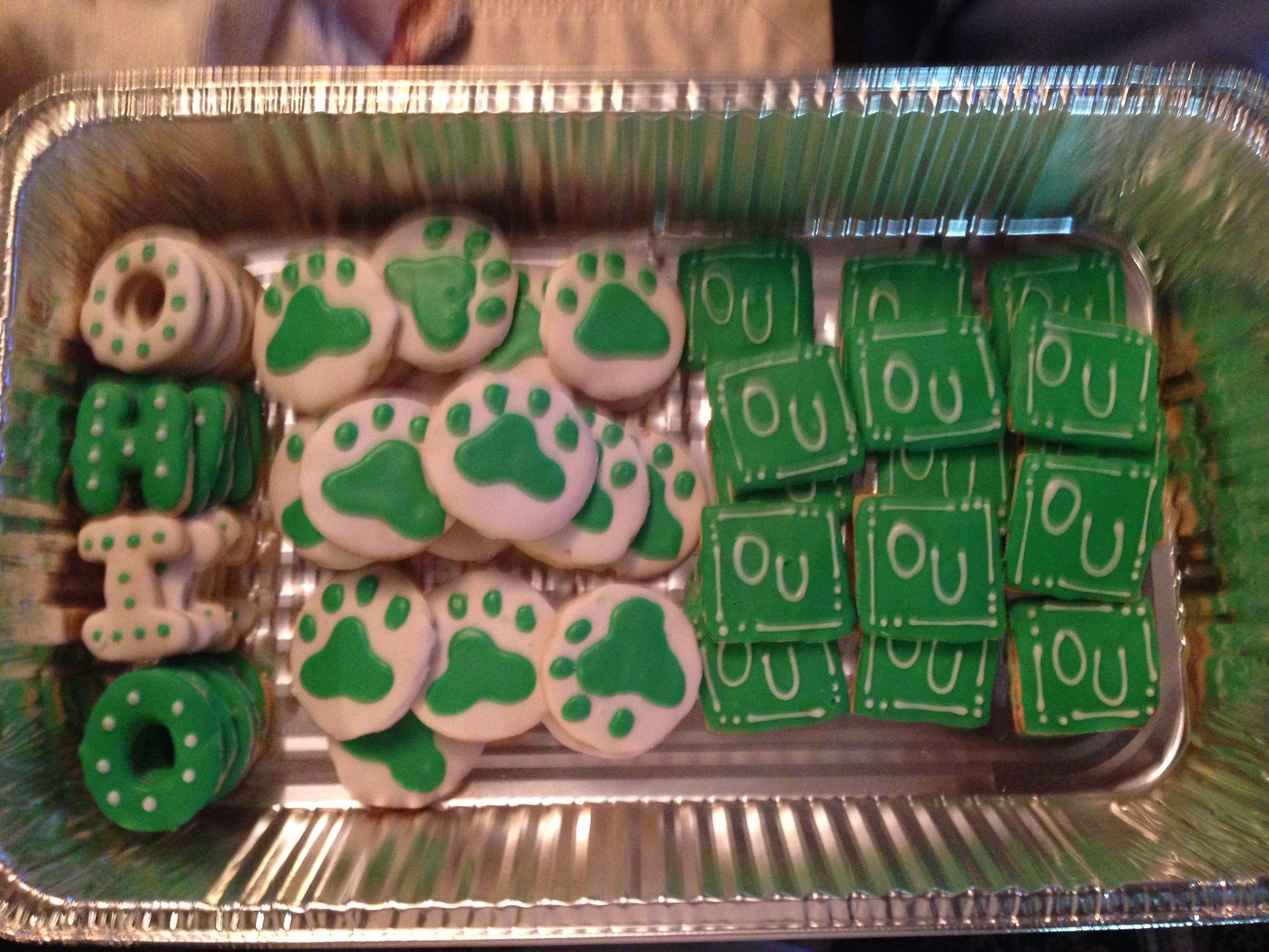 Ohio University Cookies