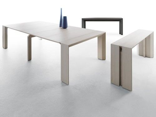 space saving furniture table. minuetto space saving table from milano smart living the console on right expands to become dining for 10 left furniture i