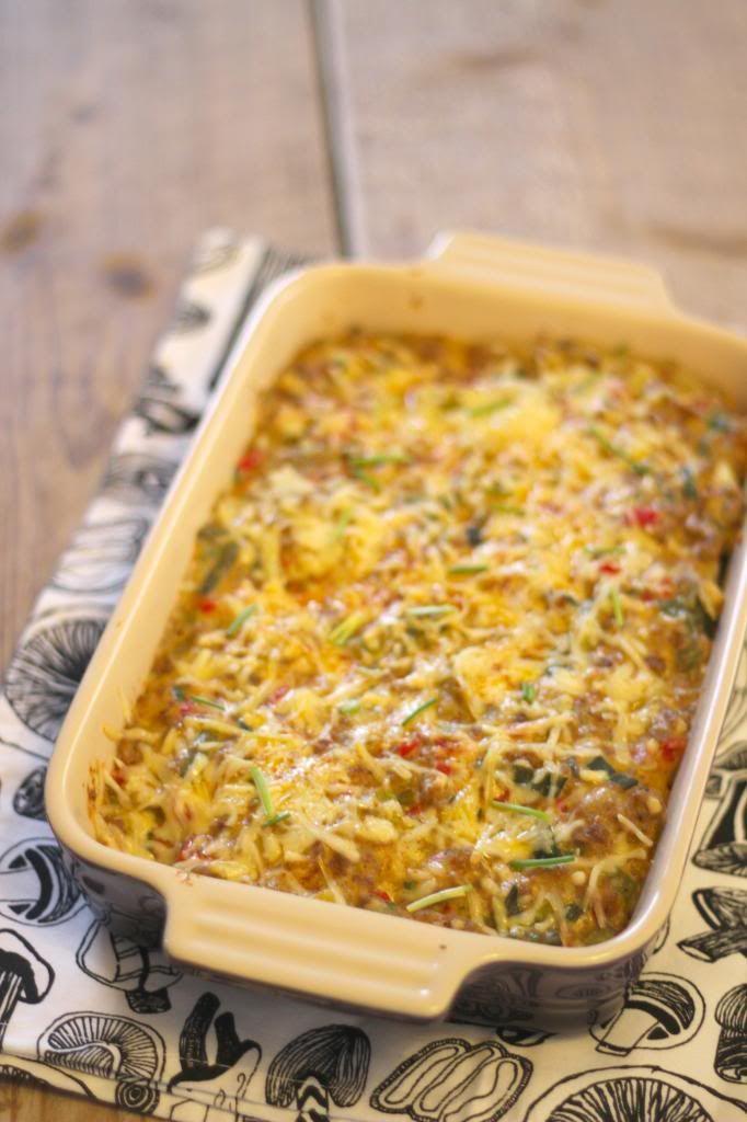 recept ovenschotel prei gehakt aardappelschijfjes