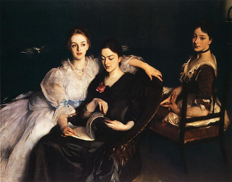 John Singer Sargent, The Misses Vickers, (1884)