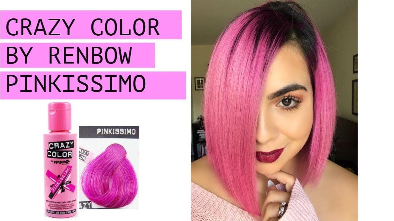 Pink Crazy Colour Hair Dye#colour #crazy #dye #hair #pink