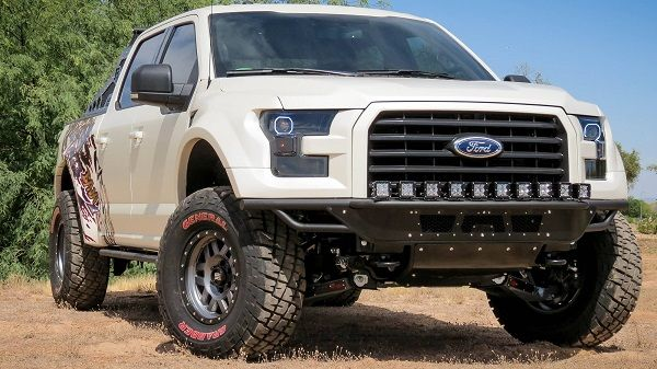 Addictive Desert Designs Race Series R Front Bumpers For Your 2015
