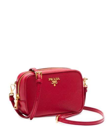 e30142e25170 Saffiano Mini Zip Crossbody Bag