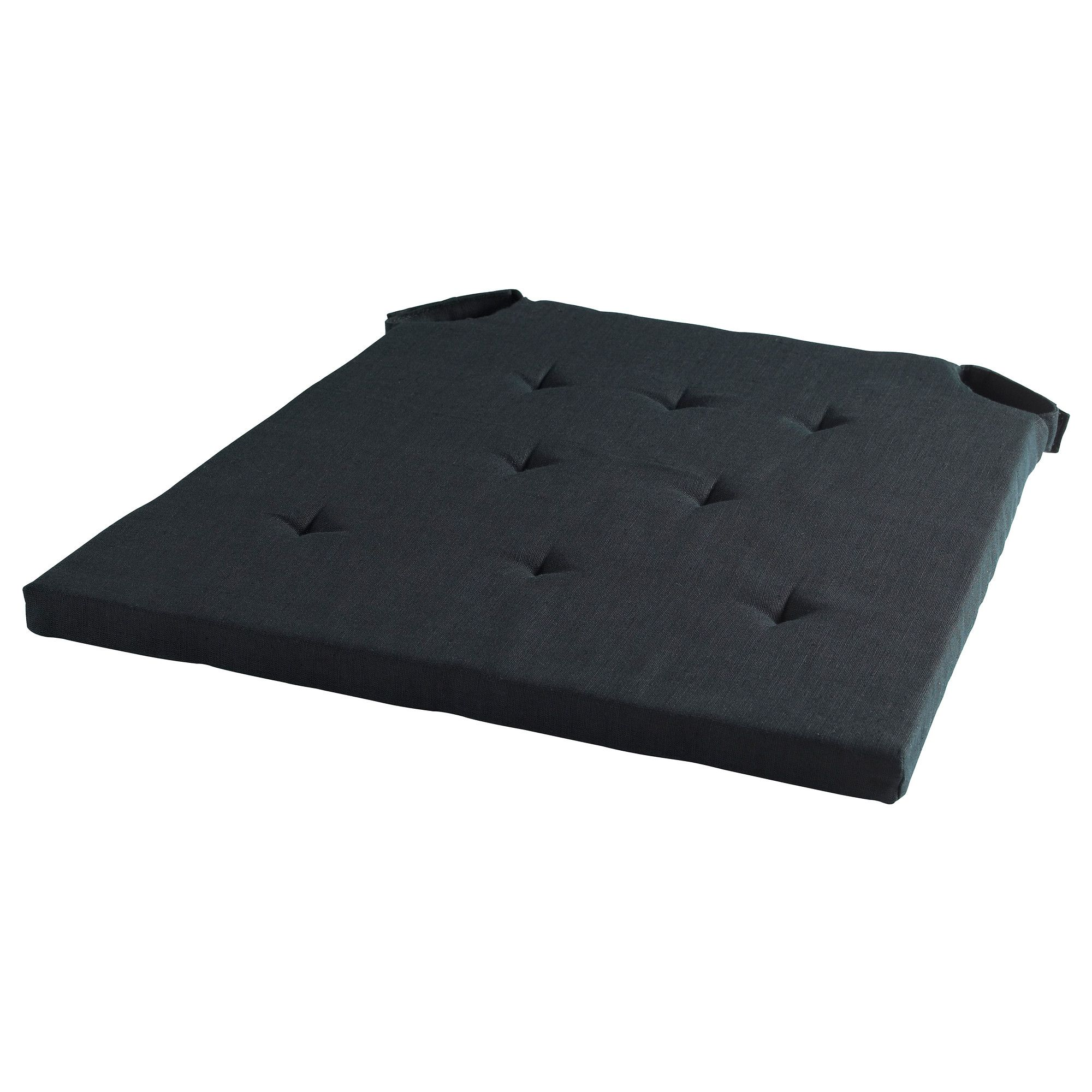 ADMETE Chair pad black IKEA $14 99 each x 8 for dining