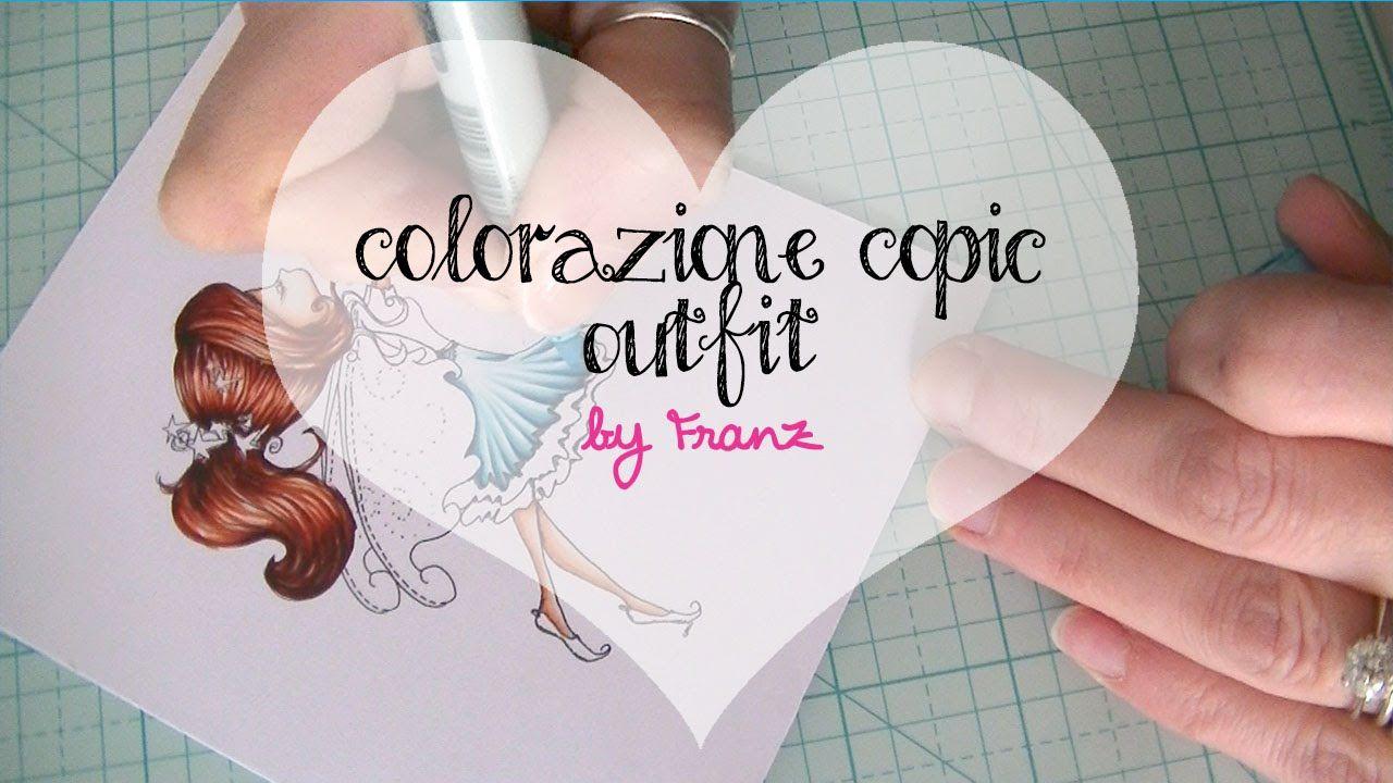 Colorazione Copic - Outfit