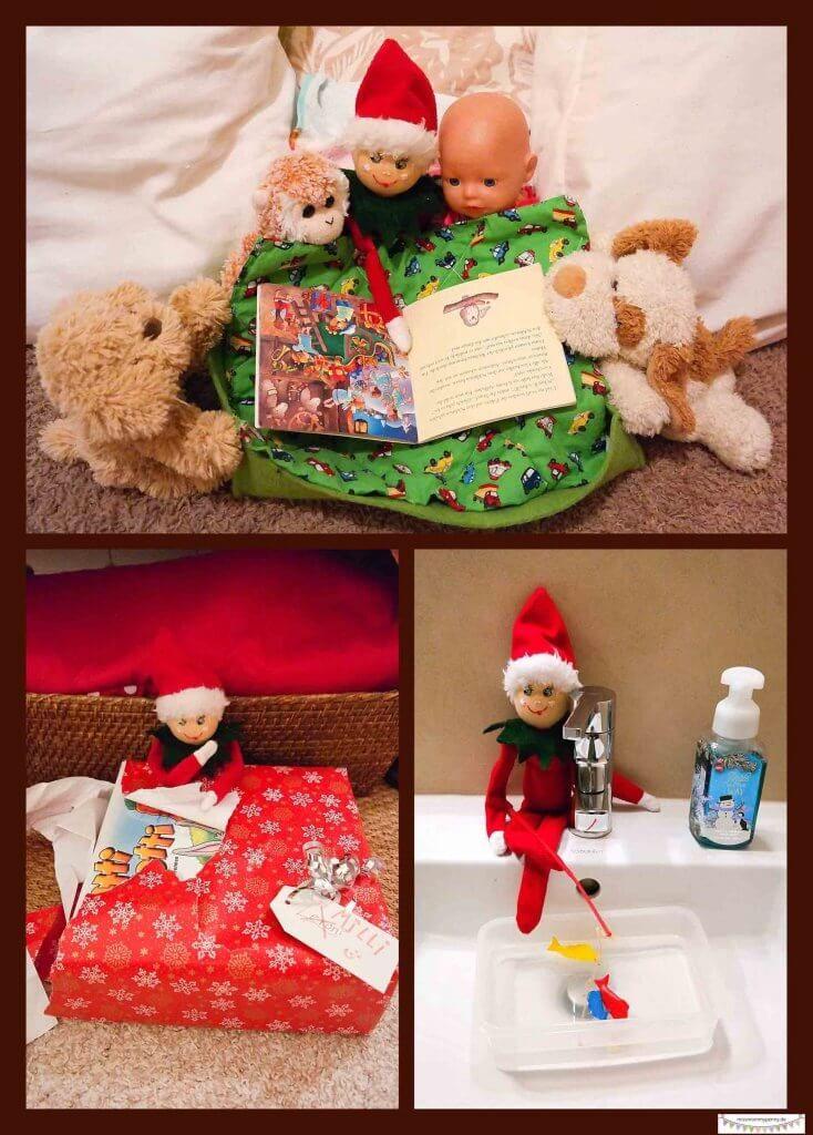 Weihnachtself Ideen, frecher Weihnachtszwerg, elf on the shelf ideas ...