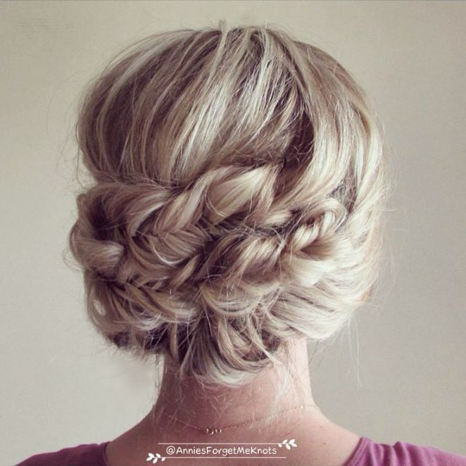 Prom Updo Hairstyles Coiffure  How To Headband Updo And Fishtail Braids  Hairstyles