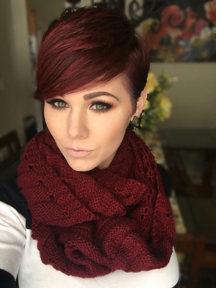 Red Pixie Hairstylesinspiration In 2018 Pinterest Red Pixie
