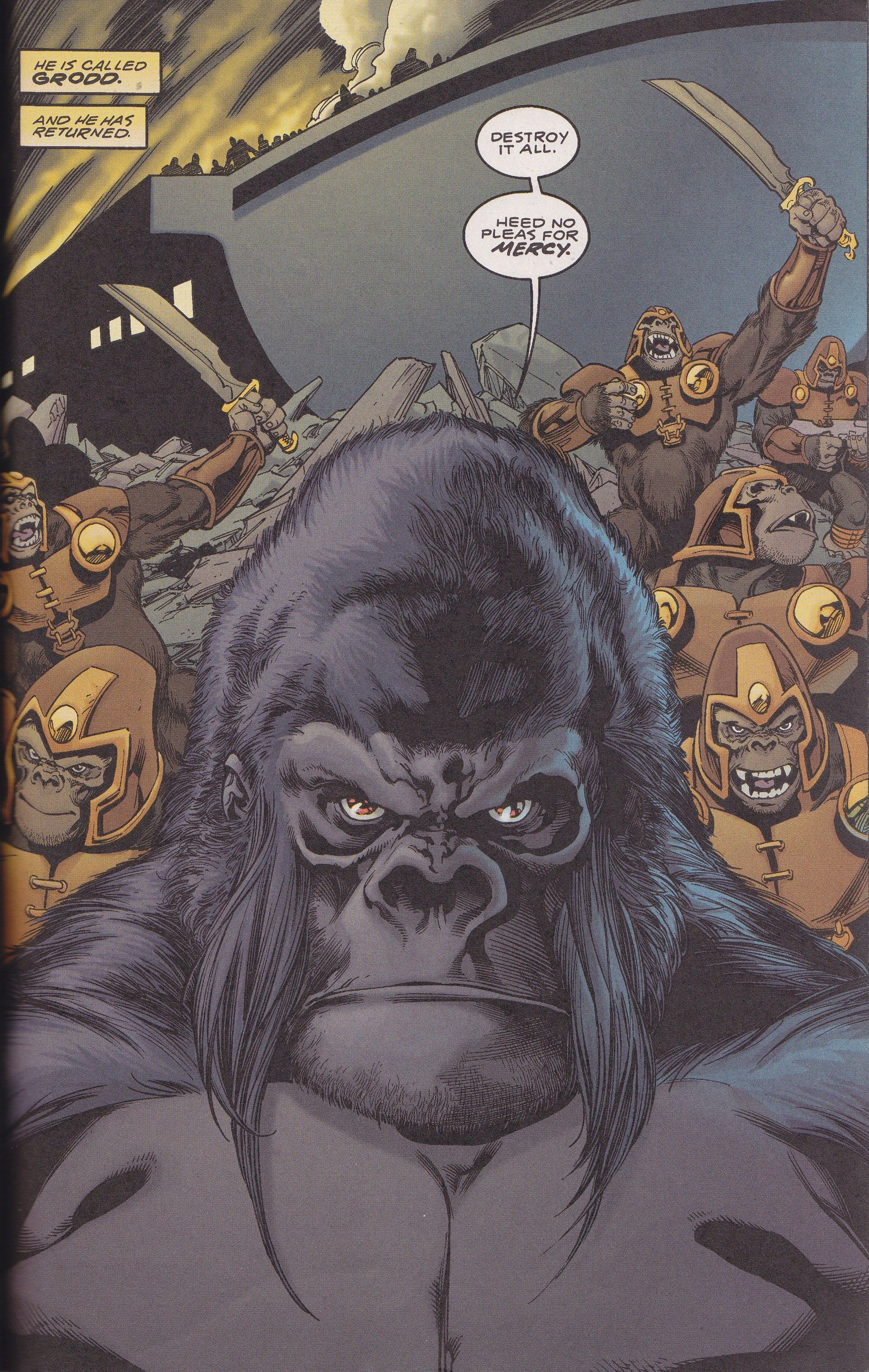 Gorilla Grodd Comic Art Comic Movies Manga Art