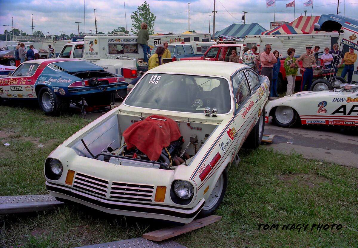 Vintage Drag Racing - Pro Stock - Chevy Vega - Ronnie Manchester\'s ...