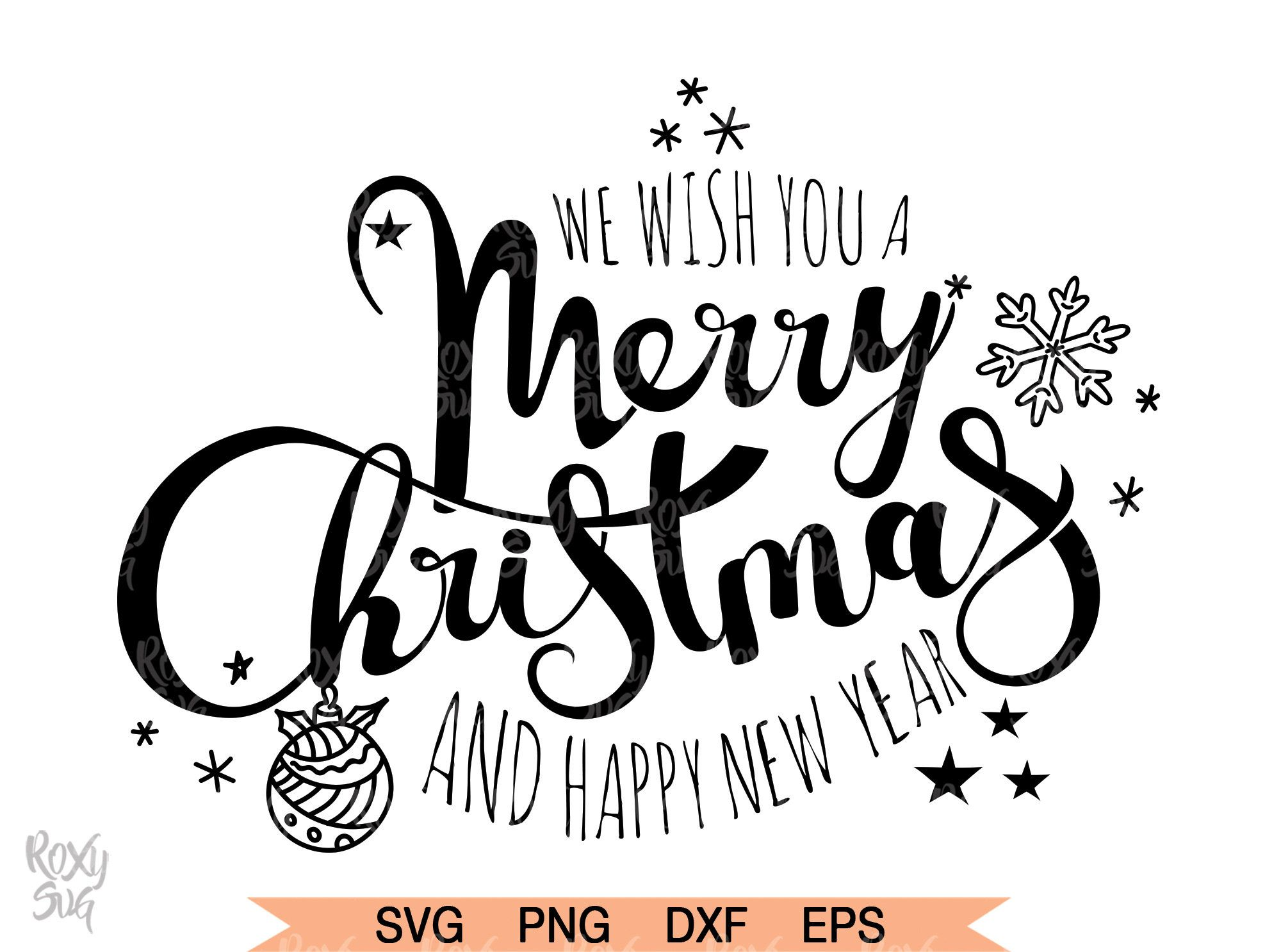 Merry Christmas SVG, Happy new year 2020 SVG, Christmas