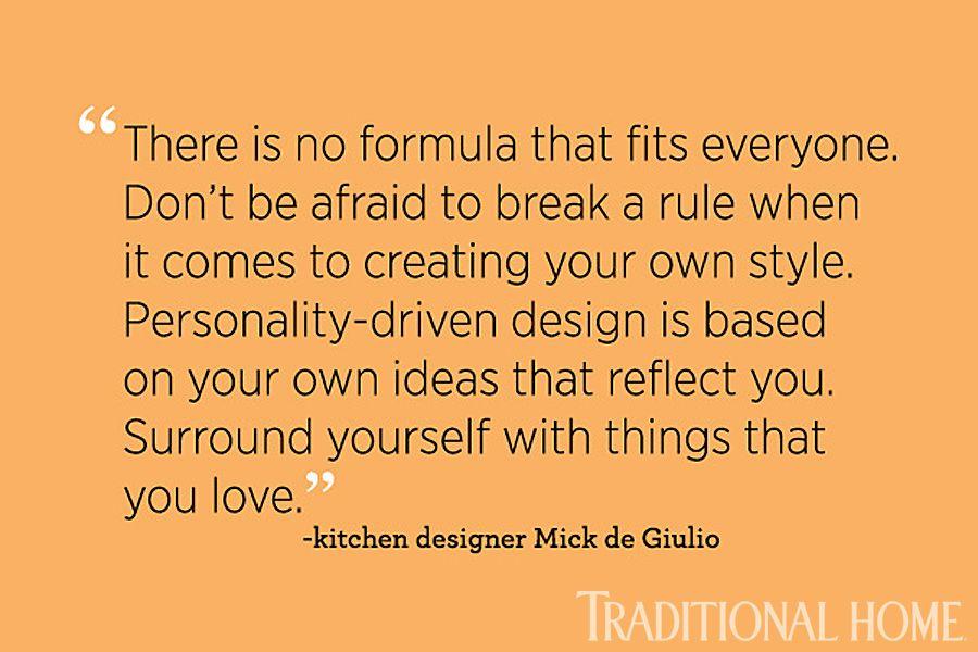 Kitchen designer Mick DeGiulio on personality-driven design