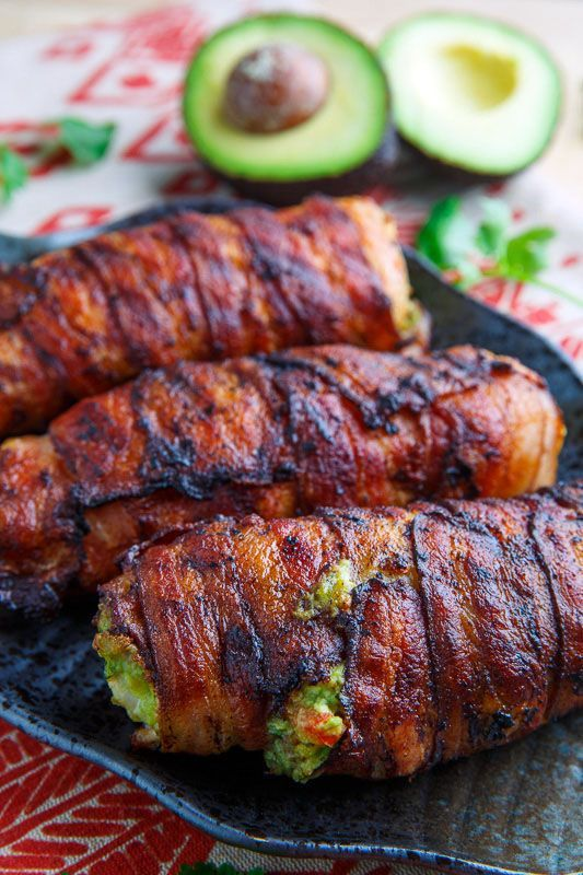Bacon wrapped guacamole stuffed chicken recipe stuffed chicken bacon wrapped guacamole stuffed chicken forumfinder Image collections