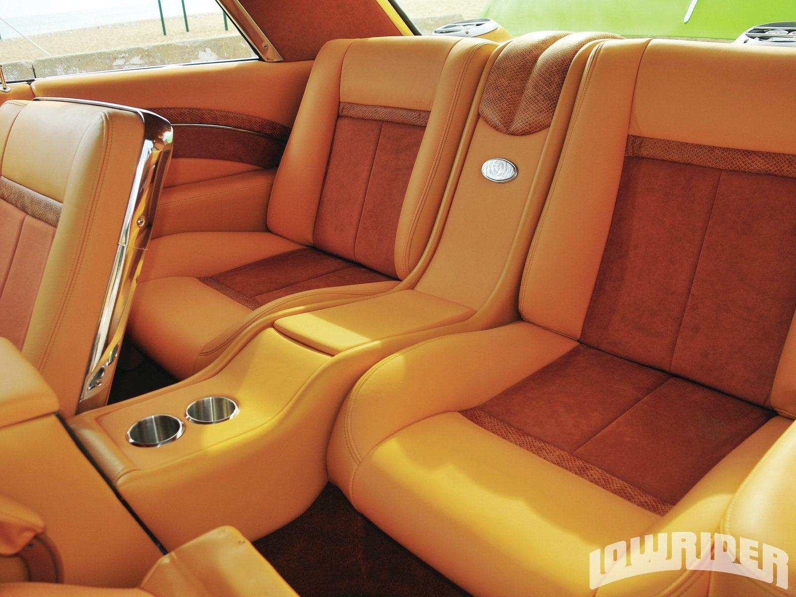 1964 Chevrolet Impala Saddle Tan Leather Interior Banco De Couro Automotivo Customizacao De Carros Interior Carro