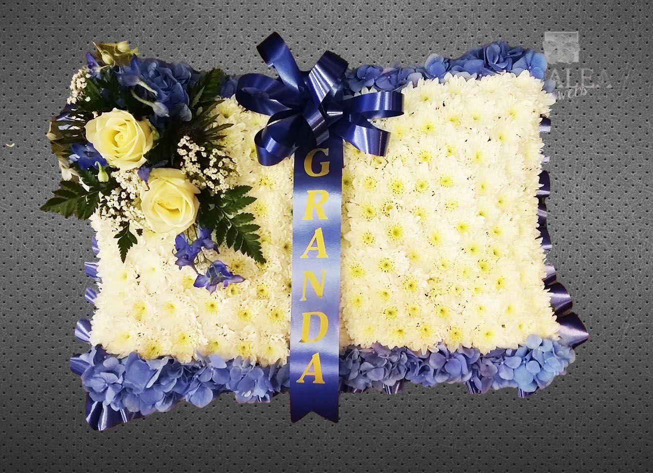 Funeral Pillow Azaleaflowers Sympaty Funeral Flowers