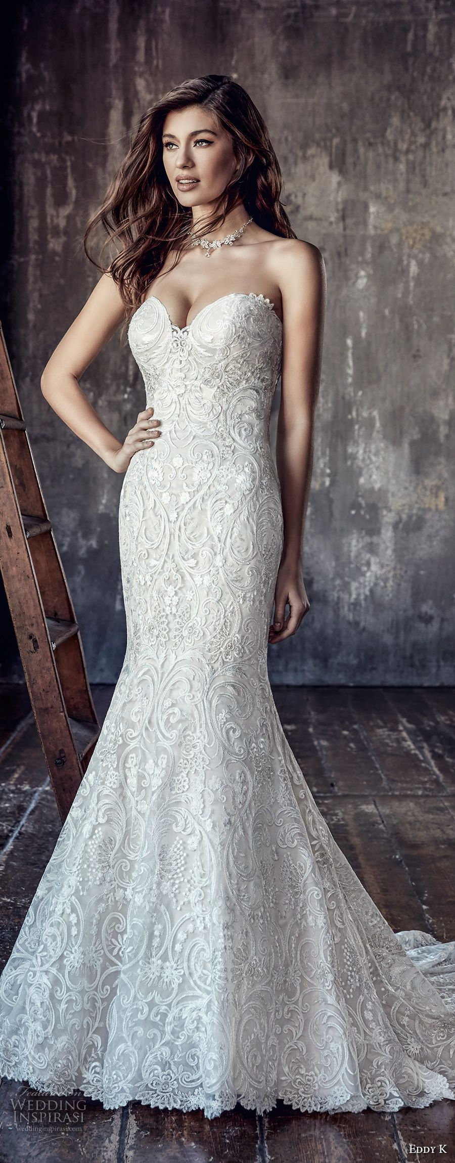 Fit and flare dress wedding  Eddy K Couture  Wedding Dresses  Wedding dress Couture and
