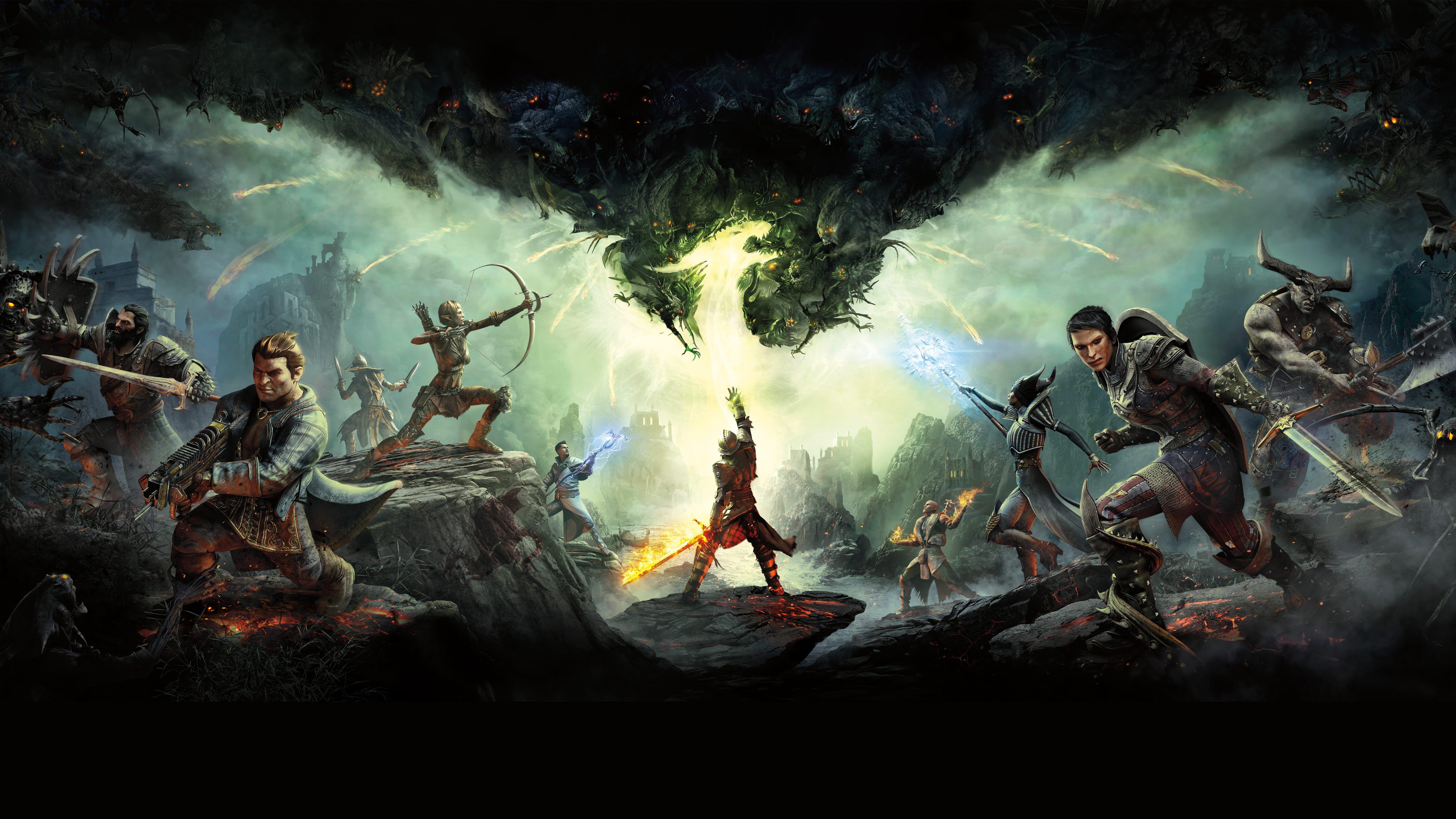 Desktophdwallpaper Org Dragon Age Dragon Age Inquisition Dragon Age 4