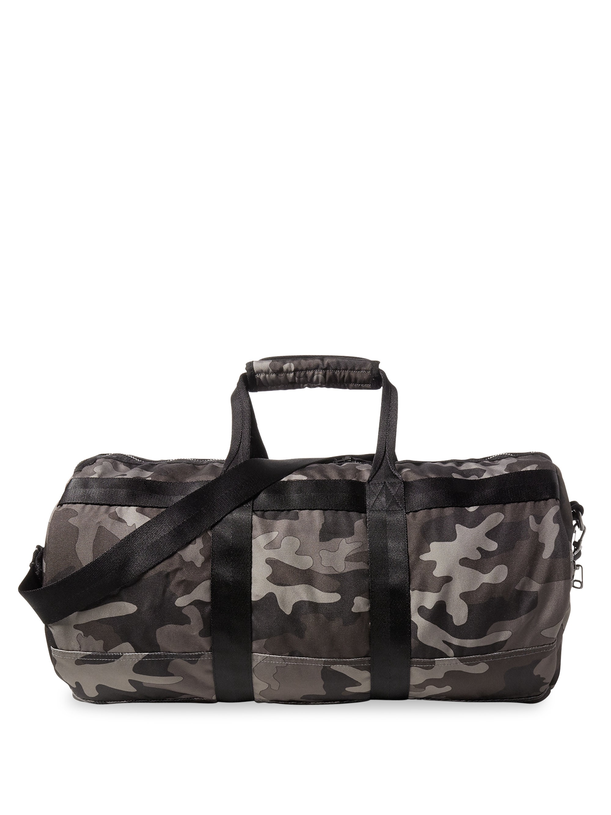 Ralph Lauren Camouflage Printed Military Duffel Bag - Black One Size ... 0450524b3fa48