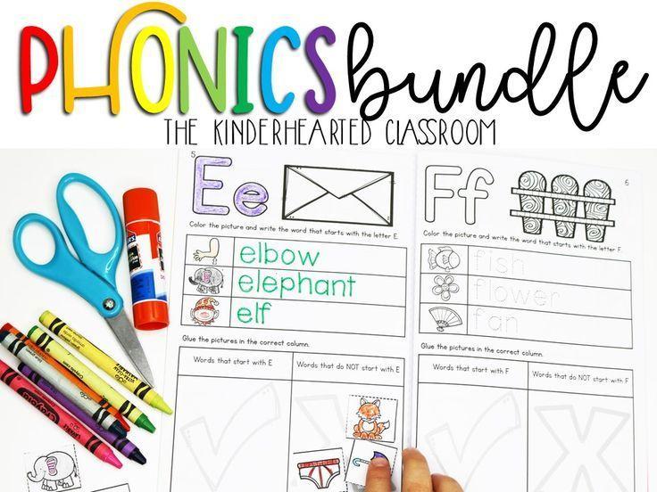 Kindergarten and First Grade teachers will LOVE this Phonics Bundle ...
