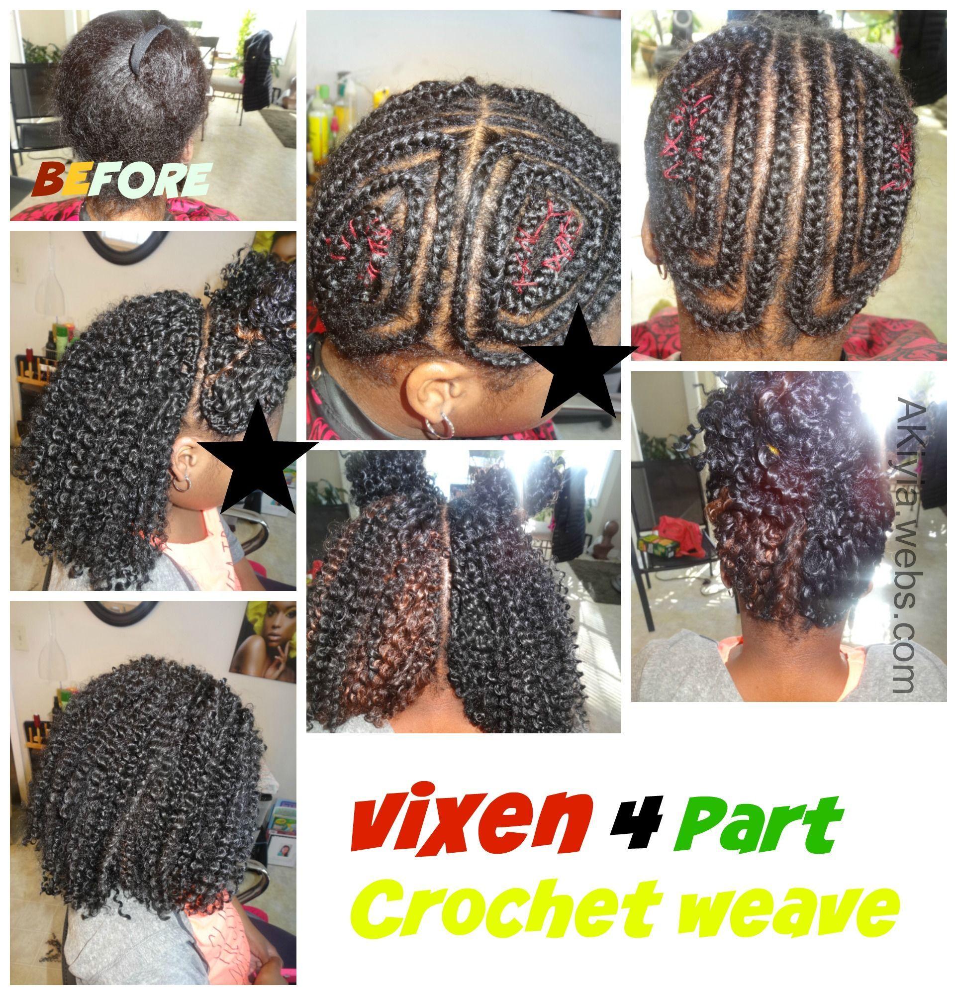Vixen Crochet Weave The Braid Pattern Highlights For Black