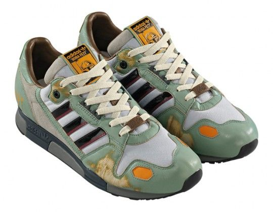 best sneakers 1acb1 bf6e9 Super Punch  Jabba the Hutt, Boba Fett and Chewbacca X Adidas