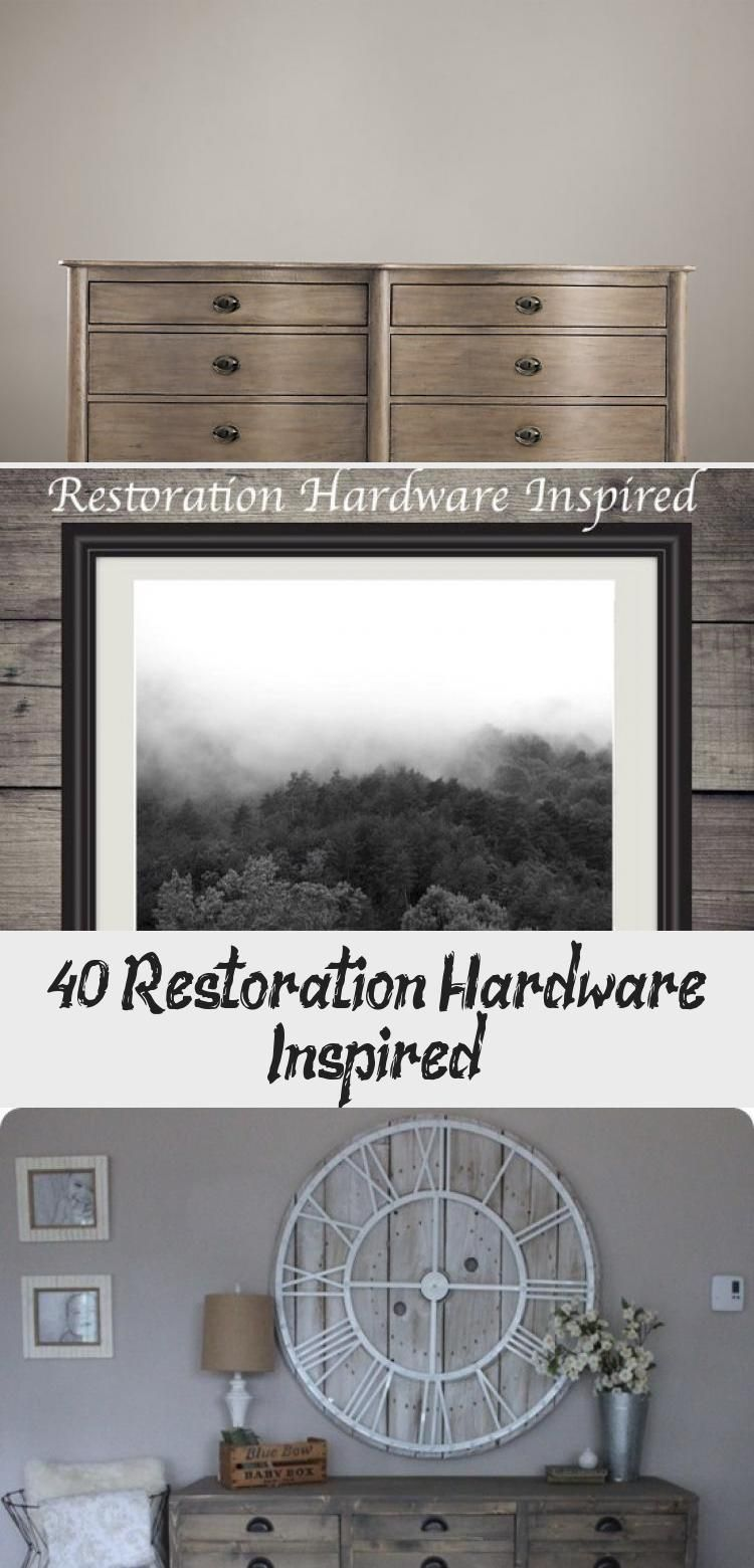 40 Restoration Hardware Inspired - Decorations #restorationhardware