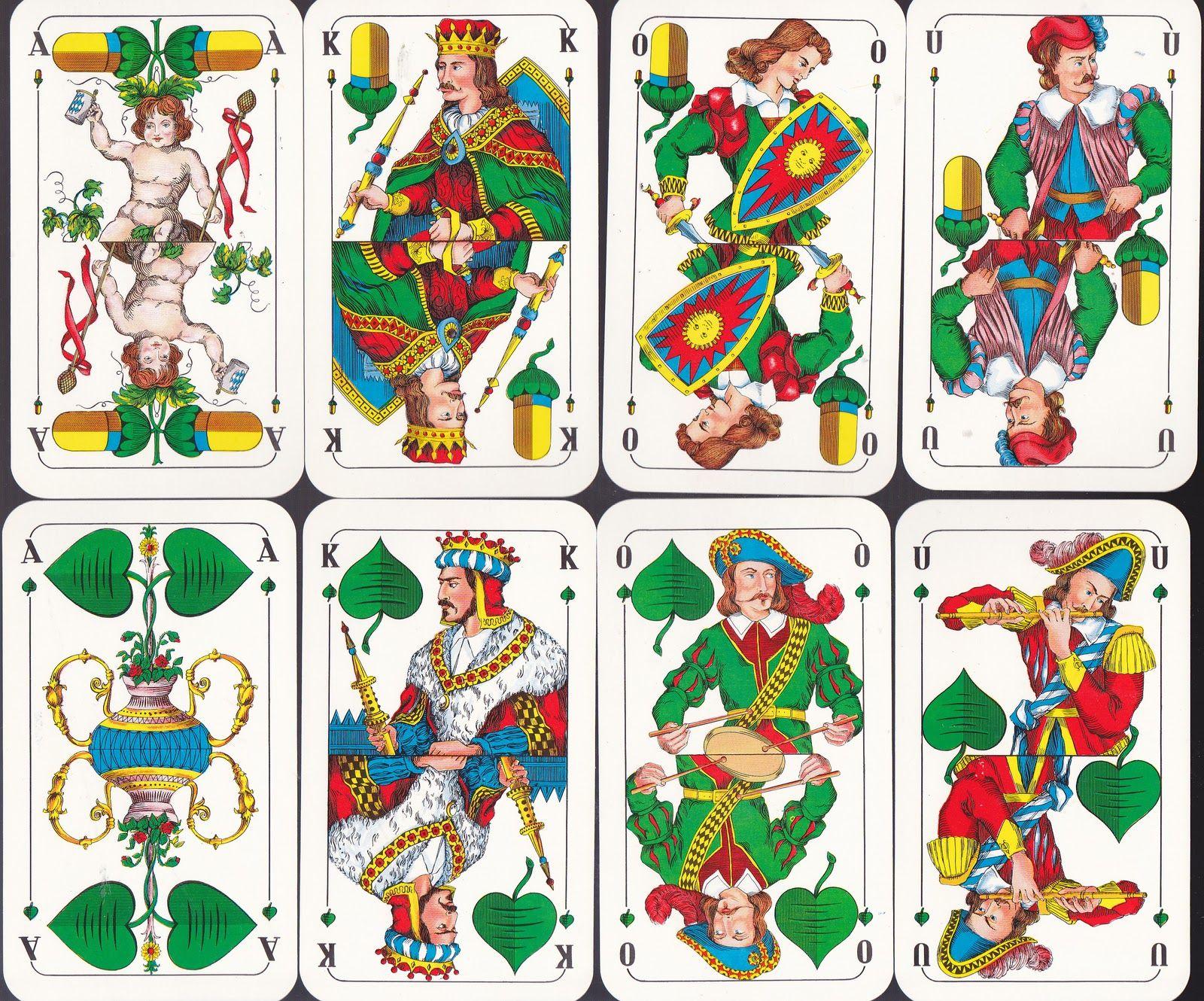 "Anthony L. esq ""schafkopf"" ( bavarian pattern playing"