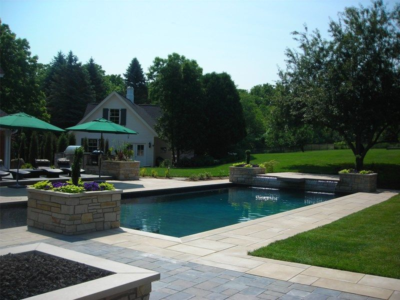 Remodeled Swimming Pool Swimming Pool Apex Landscape Grand Rapids - Amazing outdoor design by apex landscapes