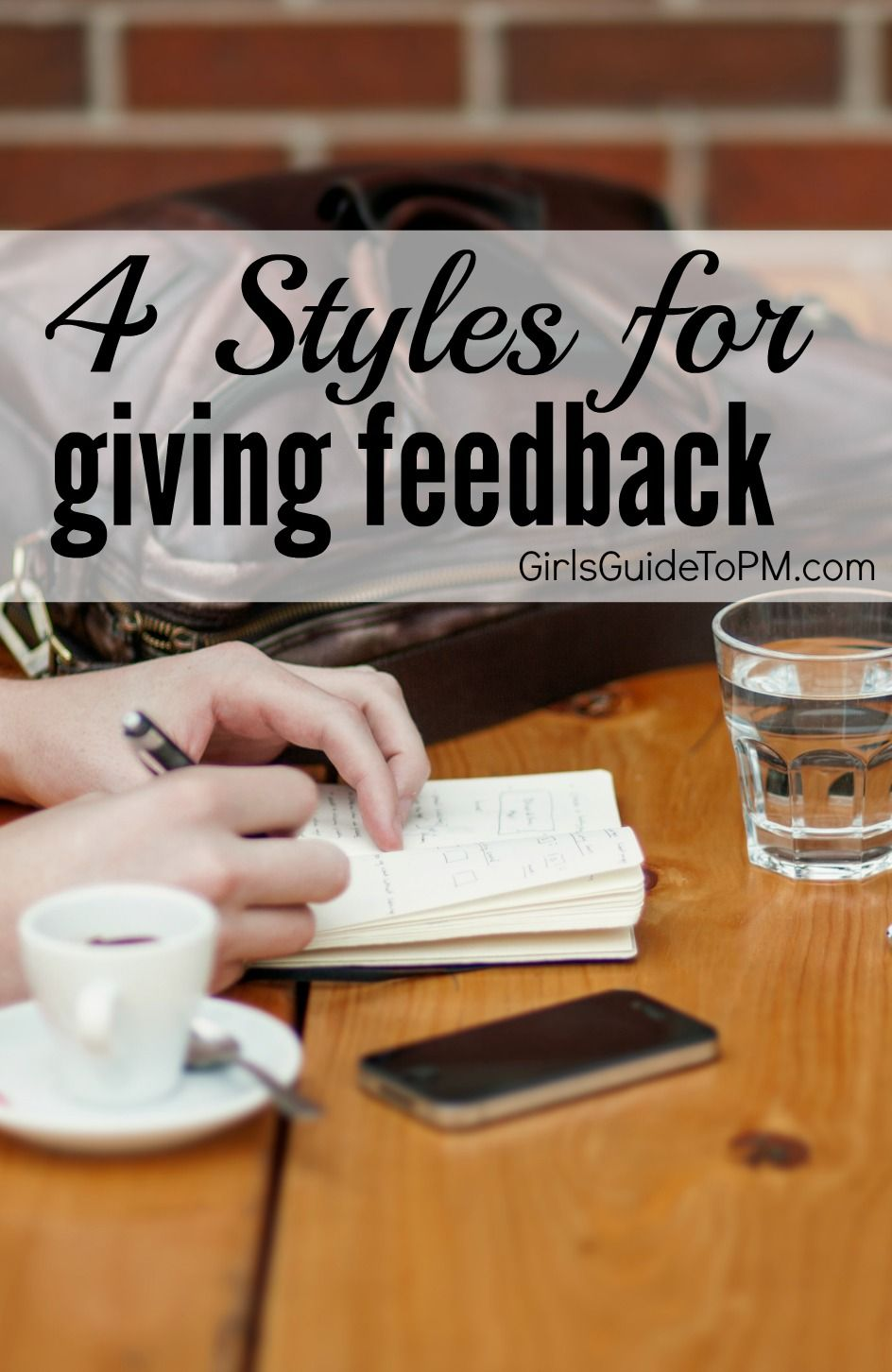 4 different management styles for giving feedback to colleagues - tips for making it easier to work collaboratively with your team.