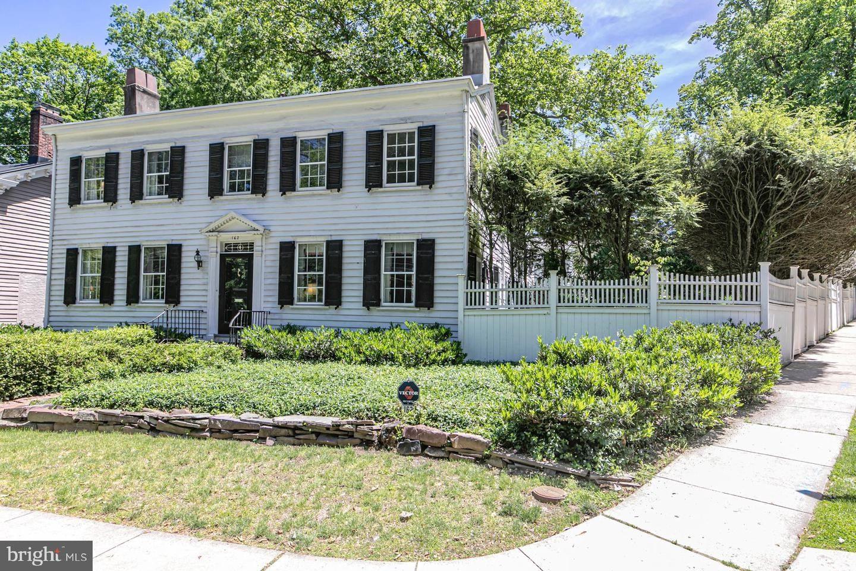 162 Mercer Street Princeton Nj 08540 Mls Njme296526 Mercer Street Multi Family Homes Row House
