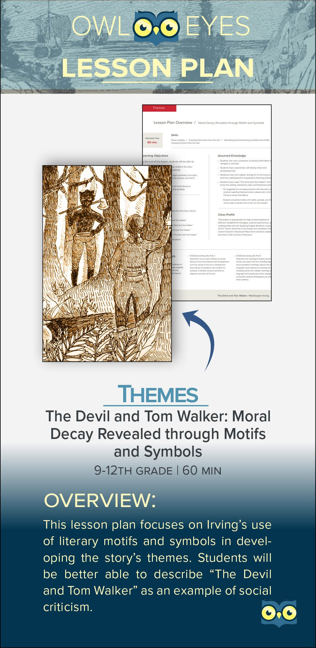 The Devil And Tom Walker Moral Decay Revealed Through Motifs And